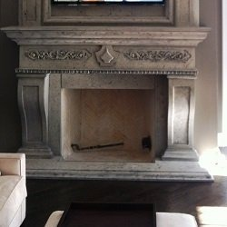 GFRC Fireplace Mantels