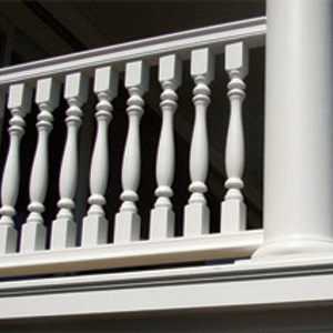 HDP Small Rail Balustrade System