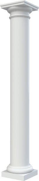 High Density Polyurethane Columns Architectural Mall