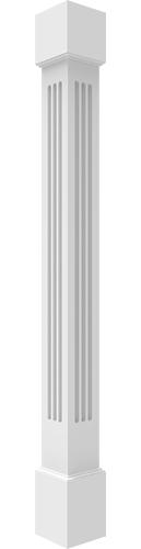 Pvc Column Wraps Architectural Mall