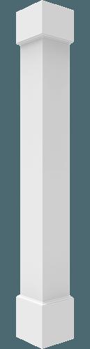 Plain Non-Tapered Square Columns