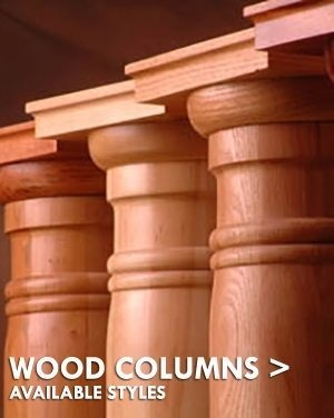 Stain Grade Wood Columns