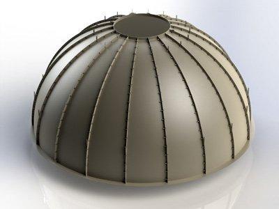 Fiberglass Ceiling Dome