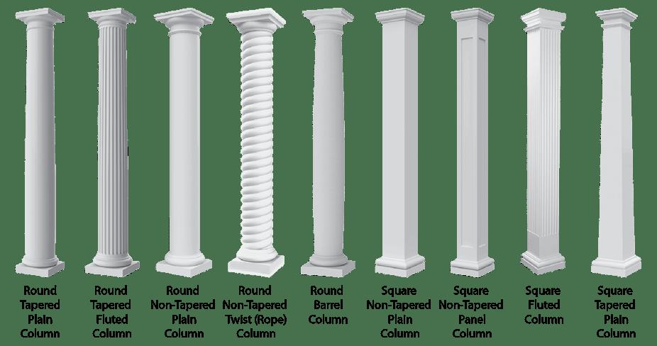 Fiberglass Column Pergolas