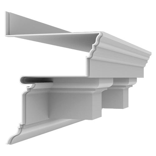Fiberglass Cornice CR130x4