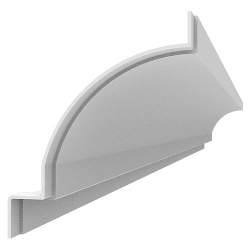 Fiberglass Cornice CR143x8