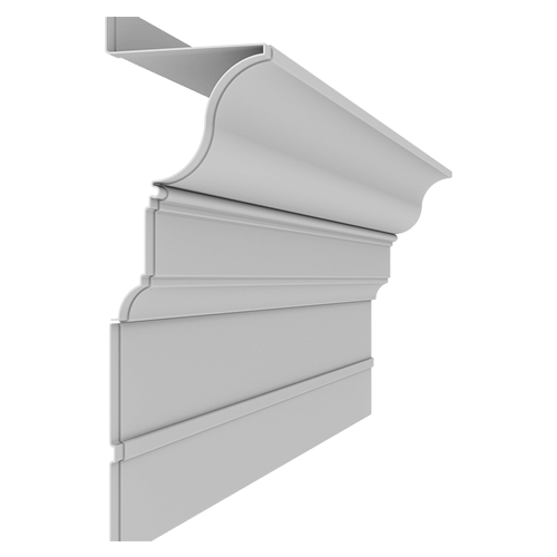 Fiberglass Cornice CR165x8