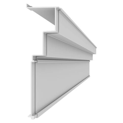 Fiberglass Cornice CR167x8