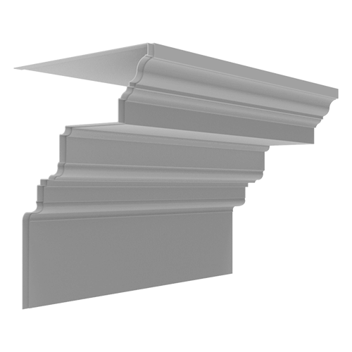 Fiberglass Cornice CR170x6