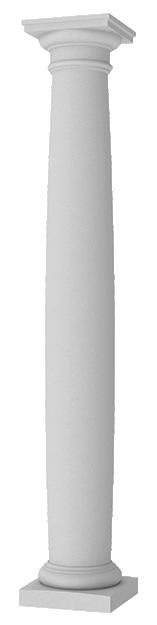 Round Barel Columns