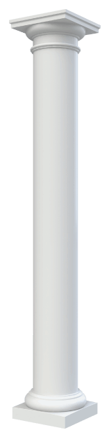 Round Non-Tapered Plain Columns