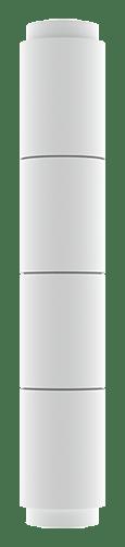 Round Non-Tapered Segmented Columns