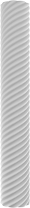 Round Non-Tapered Twisted Columns