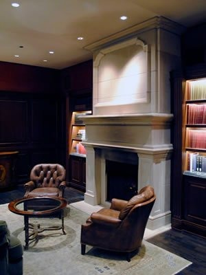 The Union Club Fireplace