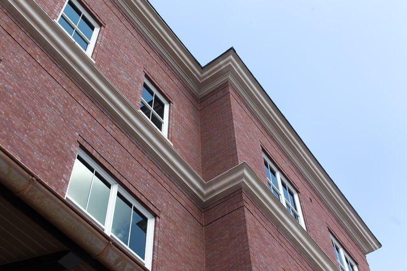 Fiberglass Cornice Architectural Mall CR124x8 CR125x8 Stone