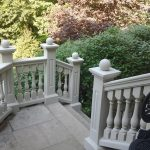 Polymer Stone Venetian Balustrades Decorative Railings