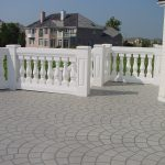 Royal Stone Balustrades Port Royal 7 Inch System White Textured Finish