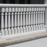 Synthetic Stone Royal Georgian 5 Inch System White Smooth Finish