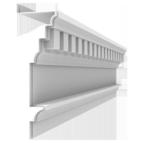 Fiberglass Cornice CR176x8