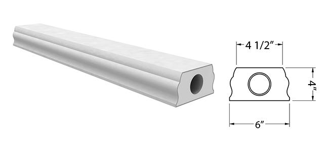 BR7510 (Bottom Rail)