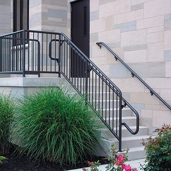 Series 500 & 550 Non-Welded Aluminum Pipe Railing