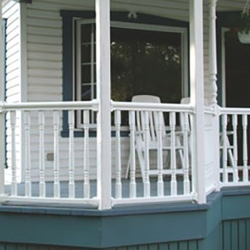 Vinyl/PVC Balusters and Railings