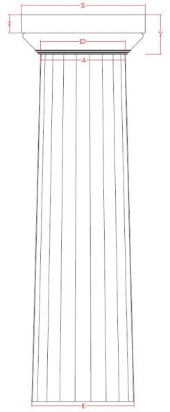 doric-drawing